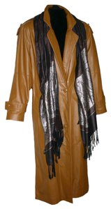 Preston & York Maxi Lambskin Trench Coat