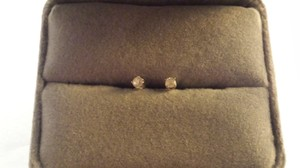 Flash Sale Genuine Diamond Stud Earrings 2mm Qvc