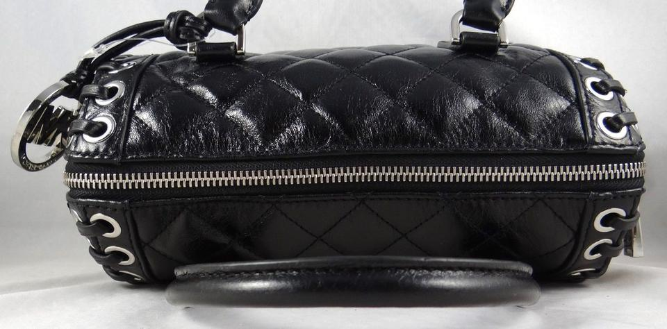 a4f4f585dfc0 Michael Kors Hippie Grommet Sophie  Msrp Black Quilted Leather Cross ...