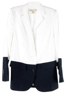 Michael Kors white-navy Blazer