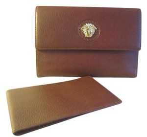 Versace Versace Medusa Wallet With Bill Case And Box