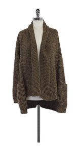 LINE Olive Knit Open Front Cardigan