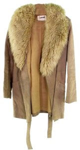 Vintage Shearling Coat Fur Coat