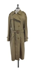 Burberry Taupe Trench Trench Coat