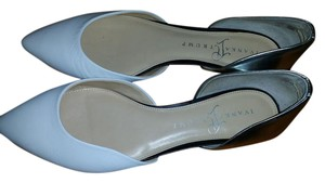 Ivanka Trump White and silver Flats