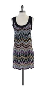 Missoni short dress Multi Color Knit Sleeveless on Tradesy
