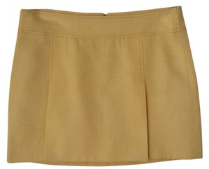 Dolce&Gabbana Minis Italian Silk Mini Skirt Gold