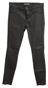 Rich & Skinny Pants Houndstooth Black Winter Spring Summer Cute Classic And & Fall Skinny Jeans