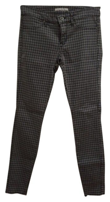 Preload https://item2.tradesy.com/images/rich-and-skinny-gray-pants-houndstooth-black-winter-spring-summer-cute-classic-and-fall-skinny-jeans-2033866-0-0.jpg?width=400&height=650