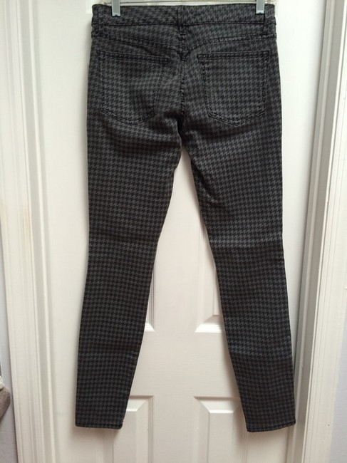 Rich & Skinny Pants Houndstooth Black Winter Spring Summer Cute Classic And Fall Skinny Jeans
