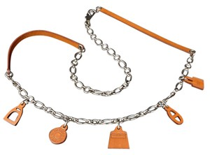 Hermès Olga Charm 2way Belt Necklace 212573