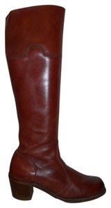Dexter Leather Vintage reddish brown Boots