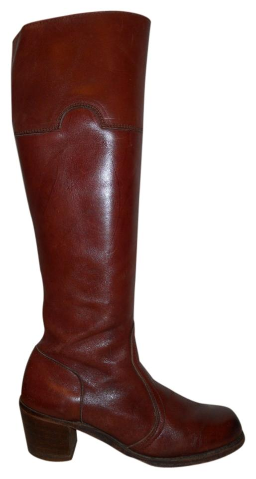 Dexter Boots/Booties Reddish Brown Vintage Tall Boots/Booties Dexter f97400