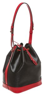Louis Vuitton Two-tone Two Tone Satchel in Black and Red