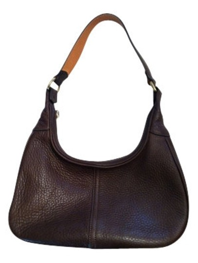 Preload https://img-static.tradesy.com/item/20339/coach-textured-small-shoulder-brown-leather-hobo-bag-0-0-540-540.jpg