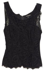 bebe Date Lace Lace Trim Corset Boning Sexy Hot Fun Classy Lacey Spring Summer Corset Winter Fall Top Black