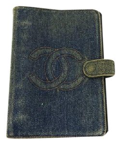 Chanel CC Logo Denim Agenda 212200