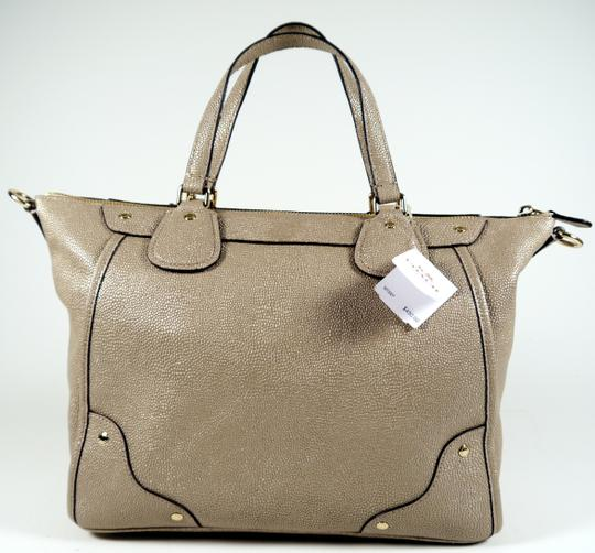 Coach Mickie Designer Purses Sale Outlet Satchel in Beige