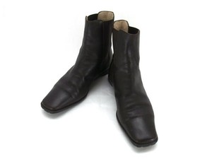 Chanel Riding Horse Walking Sports dark brown Boots