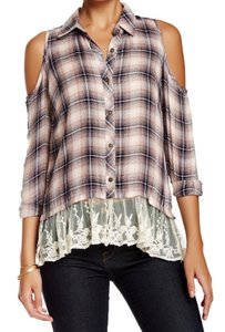 Jolt Button-down-shirt Long-sleeve New With Tags 3534-0166 Top