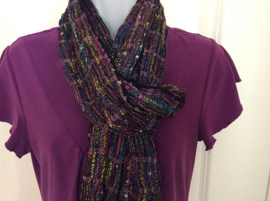 Collection Eighteen Collection Eighteen multi-colored 100% Rayon scarf