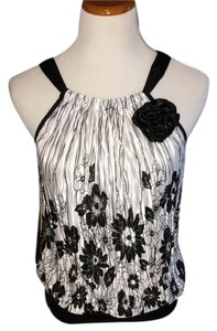 Papaya Top Black / white