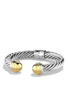 David Yurman David Yurman 10MM Gold Cable Bracelet