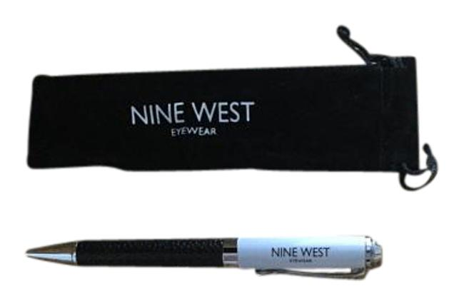 Nine West White /Black Pen with Carrying Case Nine West White /Black Pen with Carrying Case Image 1