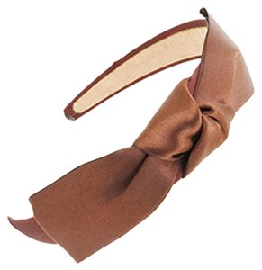 Other Coffe/Brown Ribbon Bow Headband
