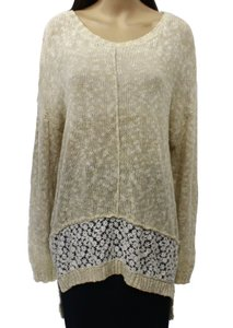Olivia Sky 100-cotton Long-sleeve New With Defects 3466-0249 Sweater