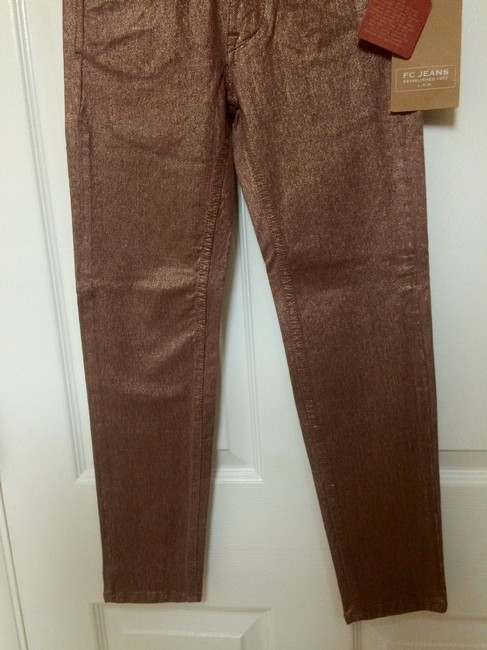 French Connection Fc By Skin Tight Shimmer Skinny Jeans-Medium Wash