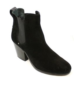 Rag & Bone Fashion-ankle Leather 3536-0136 Black Boots