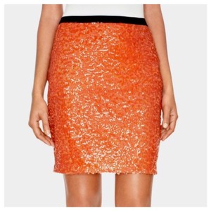 The Limited Mini Skirt Orange