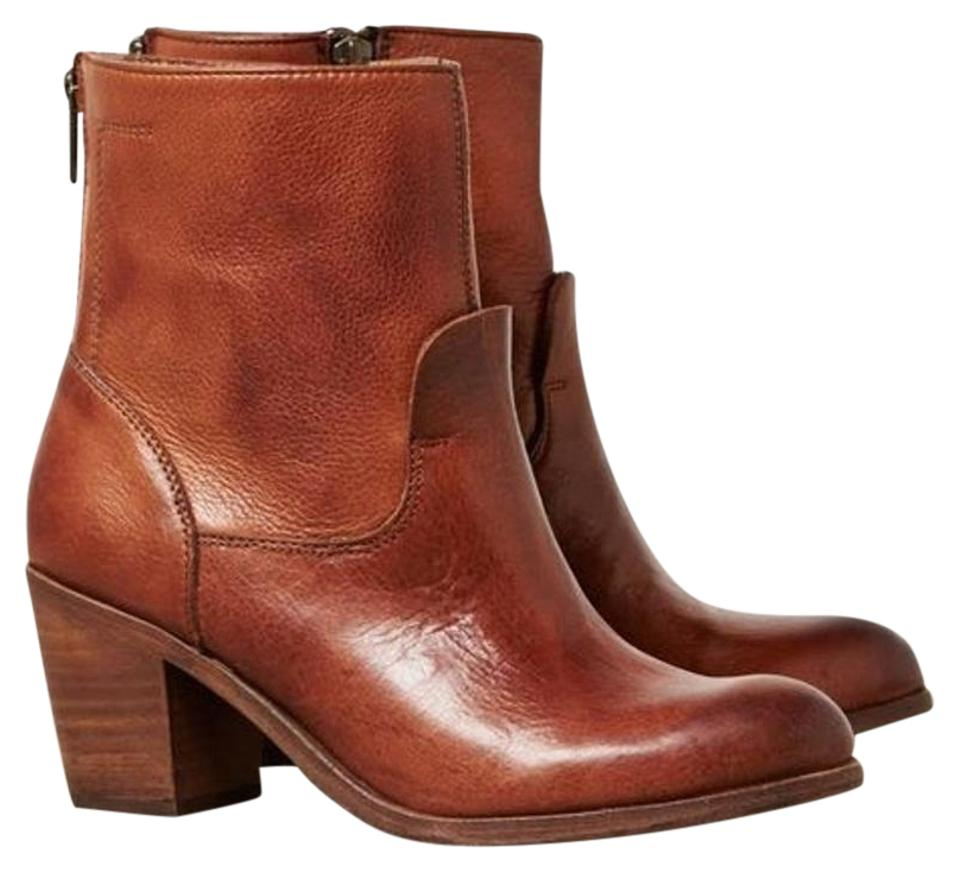 Dolce Vita Ankle Brown Cognac Tallulah Zip Ankle Vita Boots/Booties 422882
