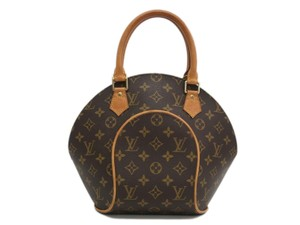 Louis Vuitton Monogram Satchel in Brown