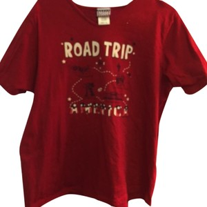 Sonoma Jean Company T Shirt Red