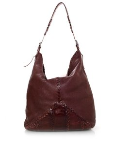 Bottega Veneta Intrecciato Tote Leather Hobo Bag