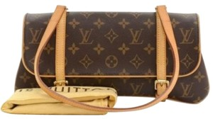 Louis Vuitton Marelle Mm Monogram Canvas Shoulder Bag