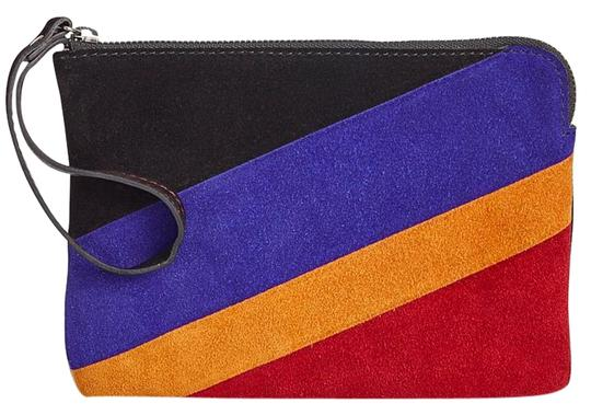 Preload https://item4.tradesy.com/images/patricia-nash-designs-new-suede-black-multi-color-colorblock-stripe-cassini-italian-leather-wristlet-20343898-0-1.jpg?width=440&height=440