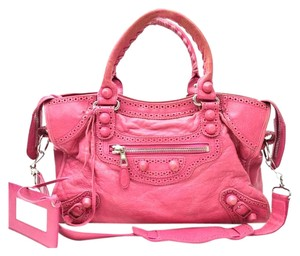 Balenciaga Satchel in covered rose