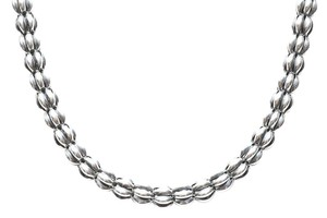 Lagos Lagos Sterling Silver Puffed Rice Link Necklace