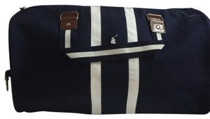 Polo Ralph Lauren Duffle Bag blue and white Travel Bag