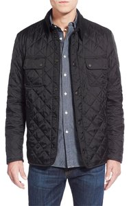 Barbour Quilt Men Quilted grey- black Jacket