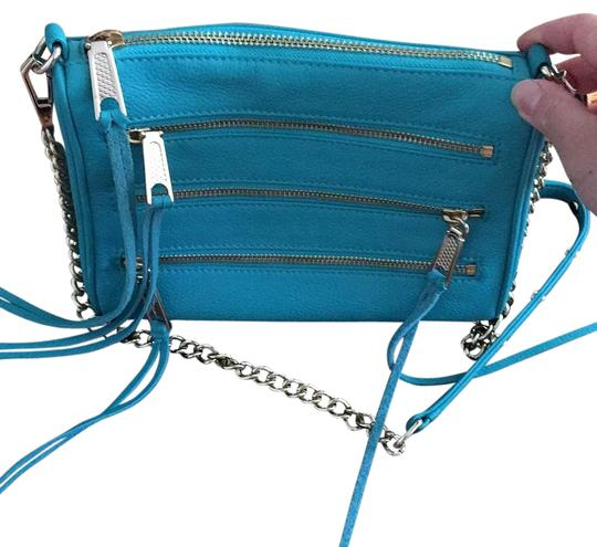 Preload https://img-static.tradesy.com/item/20344216/rebecca-minkoff-turquoise-leather-cross-body-bag-0-2-540-540.jpg