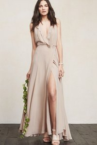 Reformation Champagne Arianna Dress Dress