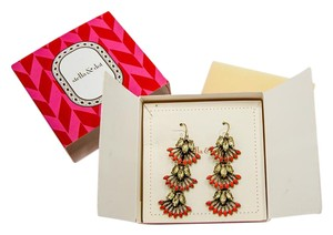 Stella & Dot Stella & Dot Coral Cay Versatile Drop Earrings
