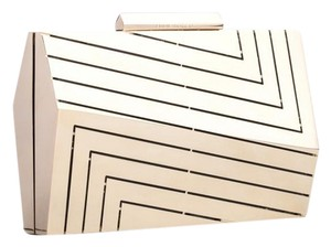 Eddie Borgo Made In Italy Luxury Exclusive New York Art Deco Gold Clutch