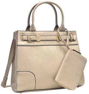 Other Classic Vintage The Treasured Hippie Big Handbags Satchel in Gold