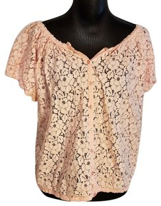 Joe Fresh Peasant Top Pink