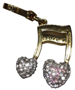 Juicy Couture music note Charm